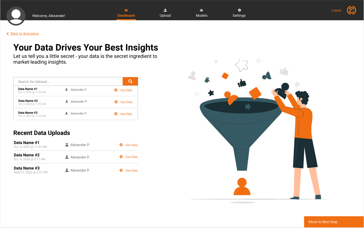 Working with your data